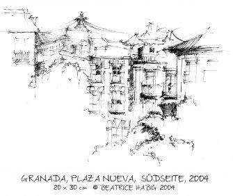 006_zg203_granada,_plaza_nueva,_suedseite